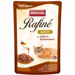 Влажный корм Animonda Рафин Суп Адульт для кошек телятина в соусе 100г