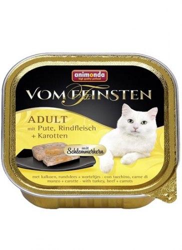 Влажный корм Animonda Фом Файстен для кошек Керн , инд/гов/морк 100г