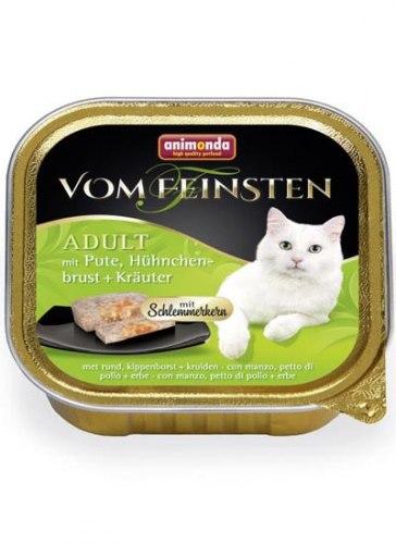 Влажный корм Animonda Фом Файстен для кошек Керн , индейка,курица,травы 100г
