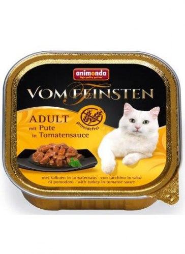 Влажный корм Animonda Фом Файстен для кошек Адульт,индейка с томатами 100г