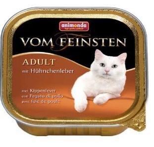 Влажный корм Animonda Фом Файстен для кошек куриная печень 100г