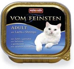 Влажный корм Animonda Фом Файстен для кошек лосось, креветки 100г