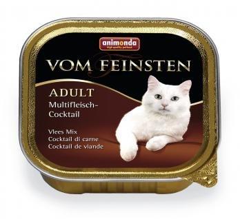 Влажный корм Animonda Фом Файстен для кошек мясной коктейль 100г