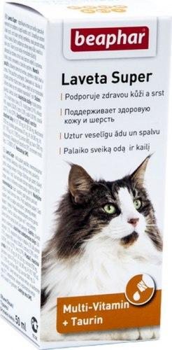 Витаминно-минеральная добавка BEAPHAR Laveta Super Katze, 50 ml