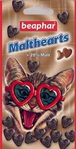 Функциональное лакомство BEAPHAR Malt Hearts 150st