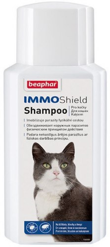 Шампунь BEAPHAR IMMO SHIELD CAT 200 ml