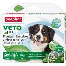Био капли BEAPHAR для взрослых собак крупных пород, 3 пипетки