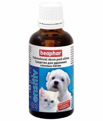 Лосьон BEAPHAR для удаления слезных пятен под глазами у кошек и собак 50 мл