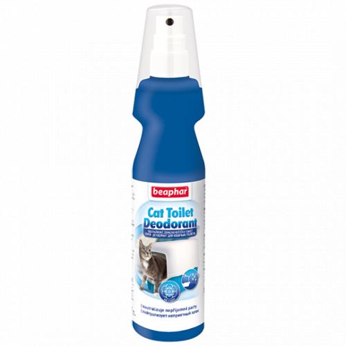 Спрей BEAPHAR дезодорант для кошачьих туалетов, 150мл