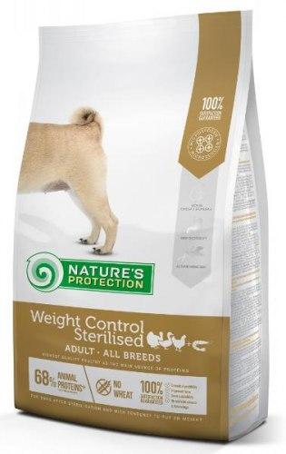 Сухой корм Nature's Protection Weight Control Sterilised with krill 12 кг