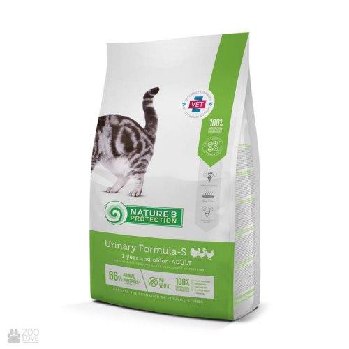 Сухой корм Nature's Protection Urinary Formula-S Poultry 18 кг