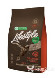 Сухой корм Nature's Protection Lifestyle Grain Free Salmon Kitten 7 кг
