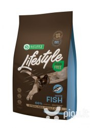 Сухой корм Nature's Protection Lifestyle Grain Free White Fish Sterilised 1,5кг