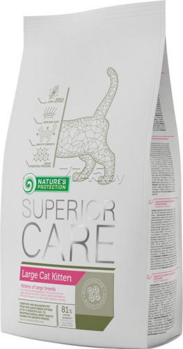Сухой корм Nature's Protection Superior Care Large Kitten 15 кг
