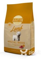 Сухой корм Araton Adult Lamb & Rice 3 кг