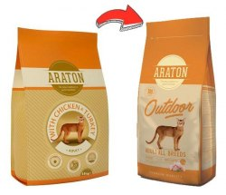 Сухой корм Araton Adult Outdoor 15 кг