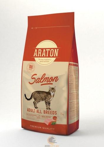 Сухой корм Araton Cat Salmon&Chicken 15 кг