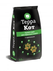 Сухой корм Терра Пес для кошек с перепелками 10кг