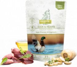 Влажный корм Isegrim Roots 2-ух протеиновый для собак 410 г., утка с куриными сердечками, овощами, льняным маслом и полевыми травами