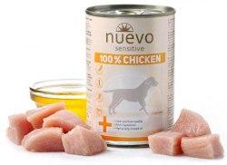 Влажный корм NUEVO SENSITIVE для взрослых собак с чувствительным пищеварением со 100% курицей 400 г., шт