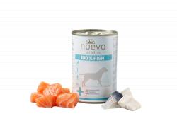 Влажный корм NUEVO SENSITIVE для взрослых собак с чувствительным пищеварением со 100% рыбой 375 г., шт