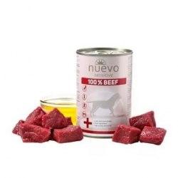 Влажный корм NUEVO SENSITIVE для взрослых собак с чувствительным пищеварением со 100% говядиной 400 г.
