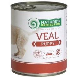 Влажный корм Nature's Protection Puppy Veal 800 г.