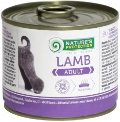 Влажный корм Nature's Protection Adult Lamb 200 г.