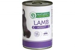 Влажный корм Nature's Protection Adult Lamb 400 г.