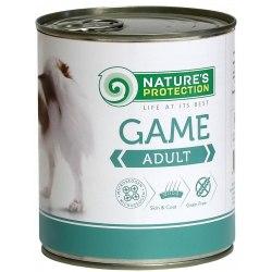 Влажный корм Nature's Protection Adult Game 800 г.