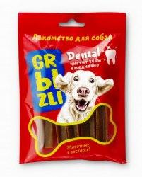 Лакомство GRЫZLI Dental жевательное для собак средних пород, 100 гр, 5 шт