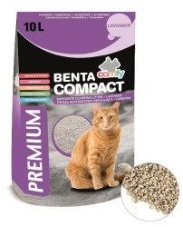 Наполнитель COMFY BENTA комкующийся из бентонита Compact Lavender (с ароматом лаванды), 10 л