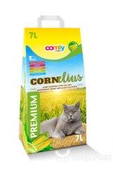 Наполнитель COMFY BENTA кукурузный Cornelius комкующийся с ароматом трав, 7л