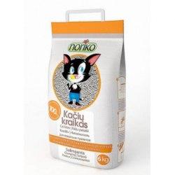 Наполнитель NORIKO 6kg - комкующийся наполнитель с ароматом фруктов для кошачьего туалета (бентонит).
