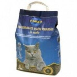 Наполнитель FINKO 5kg - комкующийся наполнитель для кошачьего туалета (на основе бентон.глины), шт