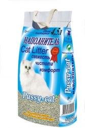 Наполнитель Pussy-cat 4,5л стандарт (цеолит).