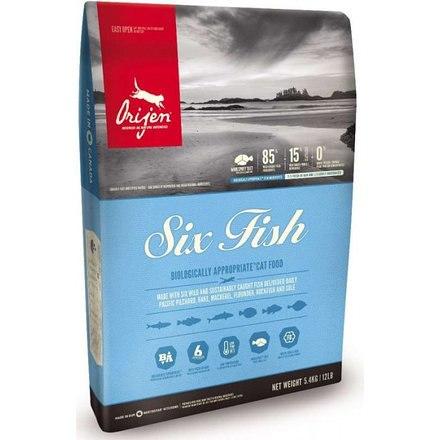 Сухой корм ORIJEN 6 Fish for Cat 85/15 1,8 кг