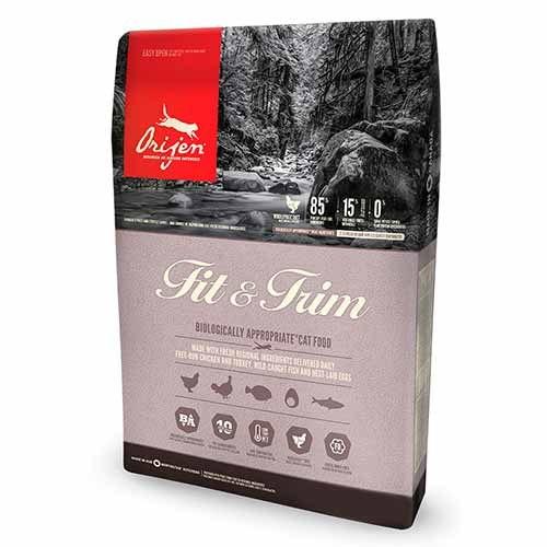 Сухой корм ORIJEN Fit & Trim Cat 85/15 5,4 кг