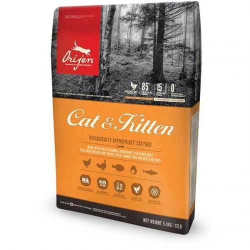 Сухой корм ORIJEN CAT & KITTEN 1,8 кг