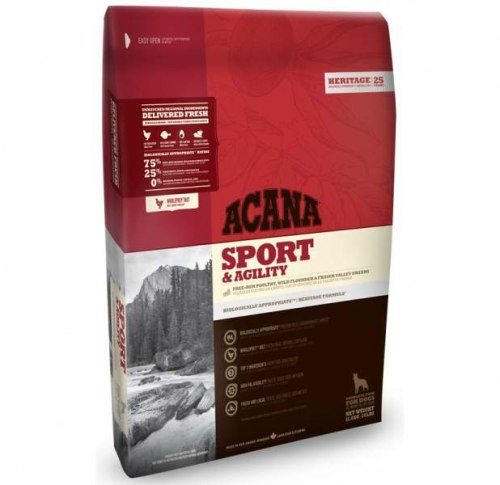 Сухой корм ACANA HERITAGE SPORT & AGILITY 11,4 кг
