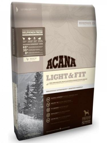 Сухой корм ACANA HERITAGE LIGHT & FIT 6 кг