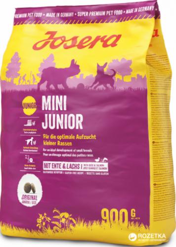Сухой корм Josera MiniJunior (Junior/Adult Mini 29/18) 900г
