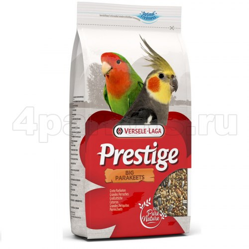 Корм Prestige Big Parakeets для средних попугаев 1 кг