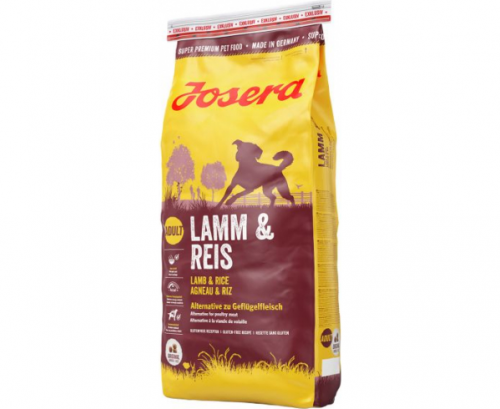 Сухой корм Josera Lamb&Rice 15 кг