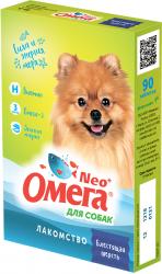 Мультивитаминное лакомство Омега Neo С-Ш с биотином для собак 90таб.