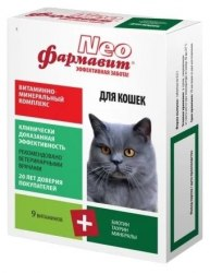 Витаминно-минеральный комплекс Фармавит Neo для взрослых кошек