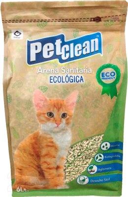 Наполнитель Pet Clean Tofu соевый 6л