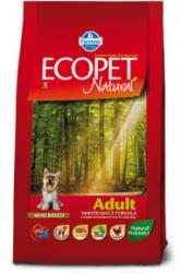 Сухой корм Ecopet natural adult mini 12 кг