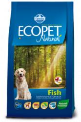 Сухой корм Ecopet natural fish mini 12 кг