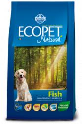 Сухой корм Ecopet natural fish 12 кг